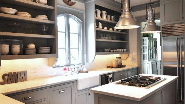 Abode Love Man Home His Wife Castle Gray Cabinetry