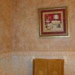 Above Old World Plaster Finish Did Few