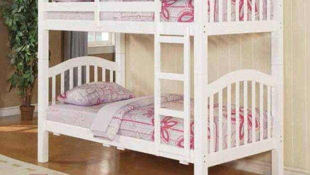 Acme Furniture Twin Over Bunk Bed White