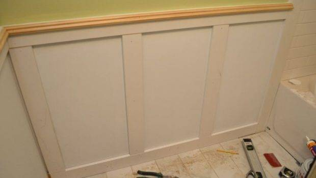 Actually Already Showed Start Wainscoting Other