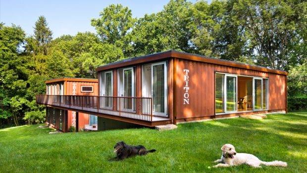 Adam Kalkin Shipping Container House