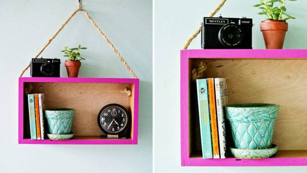 Add Interest Your Room Cutesy Hanging Shelf Not Made