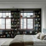 Adding Bookshelves Window Wall Designers Were Able