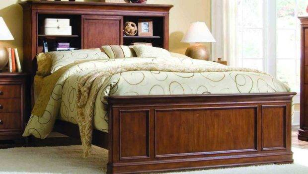 After Classic Twin Bookcase Bed Headboard Decor