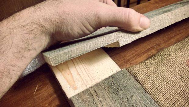 After Cutting Out Lap Joints Boards Should Overlap Each Other
