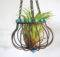 Air Plant Holder Wire Beads Hanging Margosmuse