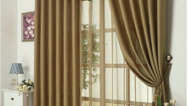 Aliexpress Buy New Arrival Solid Color Curtains