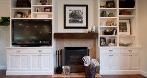 Alison Entertainment Center Bookcase Griffin Custom Cabinets