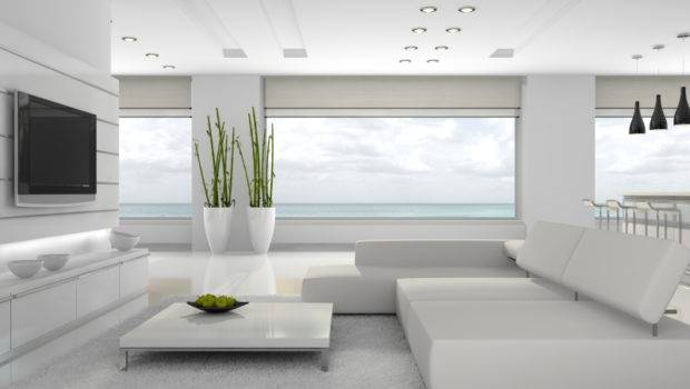 All White Home Interiors Design Decor Ideas