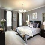 Also Small Spaces Modern Bedroom Chandelier Grey Wall