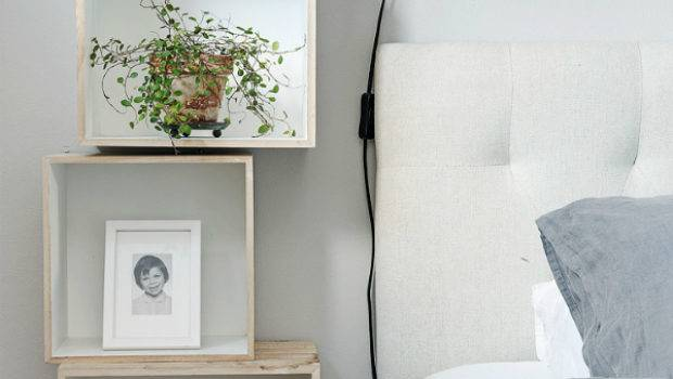 Alternatives Bedside Tables Small Spaces Mocha