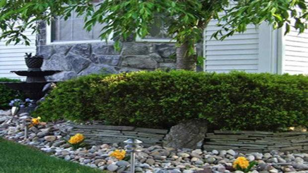 Amazing Above Part Build Cheap Landscaping