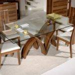 Amazing Glass Top Dining Table Designs