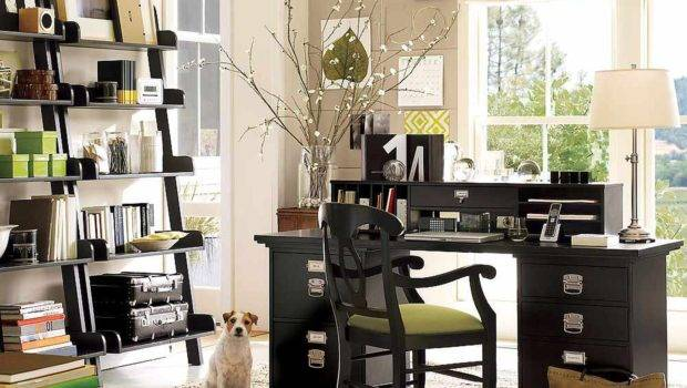 Amazing Great Cool Home Office Decorating