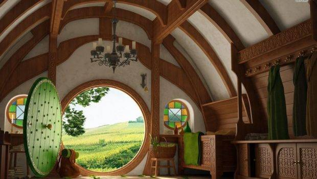 Amazing Hobbit House Architecture Interior Design