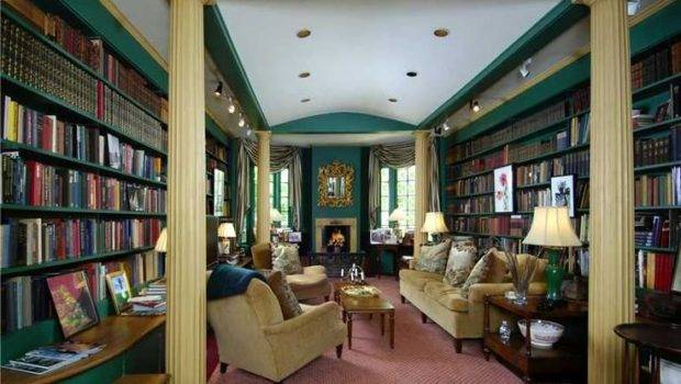 Amazing Home Library Wallacks Stamford
