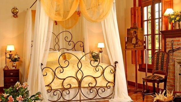 Amazing Interior Design Elegant Bedrooms Wrought Iron Bed Designs