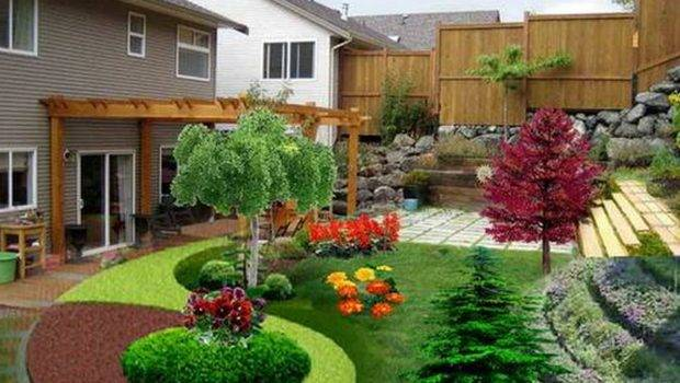 Amazing Simple Colorful Landscaping Ideas Easy