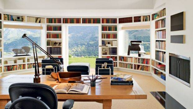 Anonymous Private Library Designed Sally Sirkin Lewis Designs