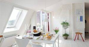 Another Creative White Interior Space Small Apartment
