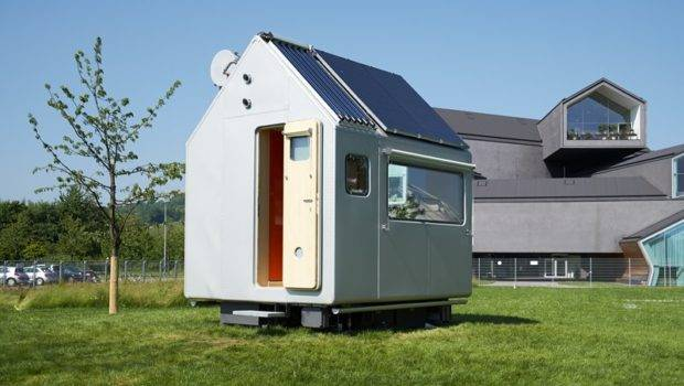 Another Portable Mini House Has Wheels