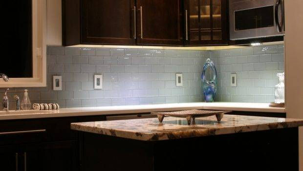 Another Subtle Hint Color These Sleek Glass Subway Tiles