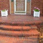 Another Transformation Ann Arbor New Brick Paver Porch