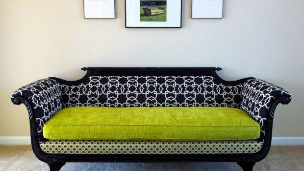 Antique Duncan Phyfe Sofa Redesigned Modern Times Rlraine