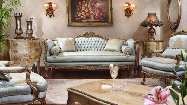Antique French Furniture Style Salon