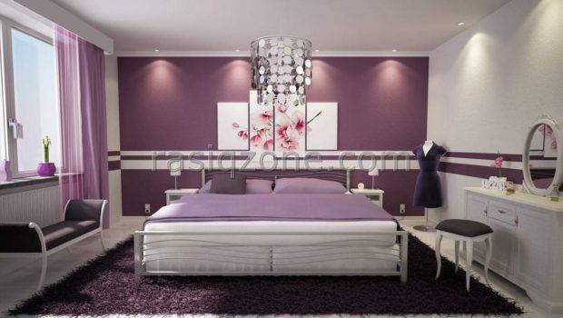 Antique Purple Bedroom Design Ideas Teenage Girls Daily