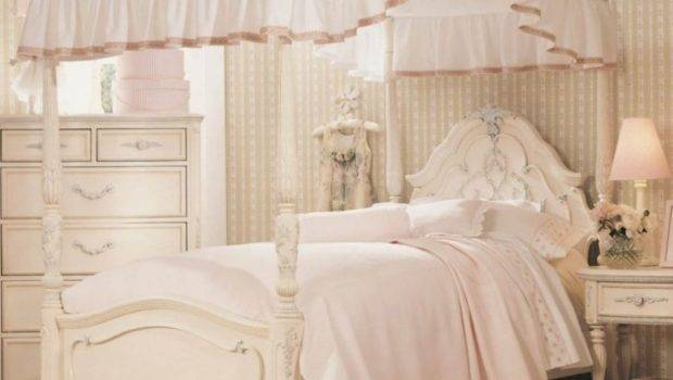 Antique White Little Girl Bedroom Ideas Amazing Bed