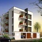Apartment Elevation Designs India Latest