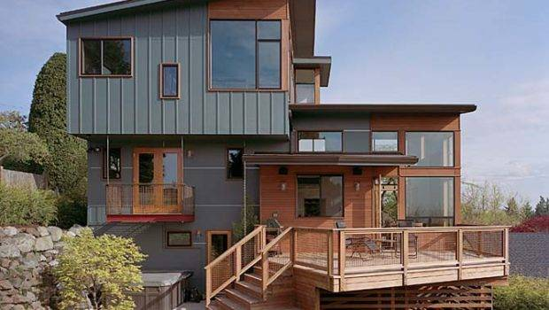 Appearance Wood House Design Wooden Home