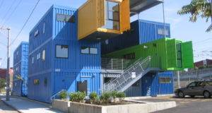 Architecture Houses Built Sea Containers Conex House