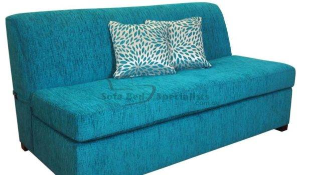 Armless Sofabed Innerspring Mattress Sofa Bed Specialists