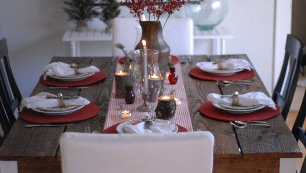 Arranging Rearranging Until Landed Tablescape