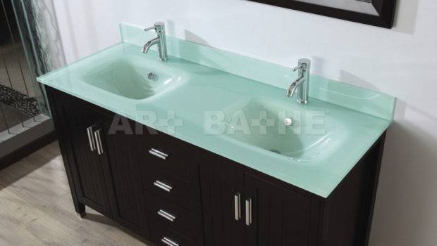 Art Bathe Jackie Chai Double Bathroom Vanity Marble