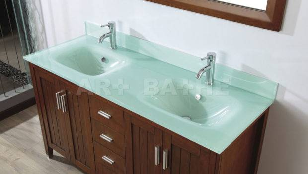 Art Bathe Jackie Cherry Double Bathroom Vanities
