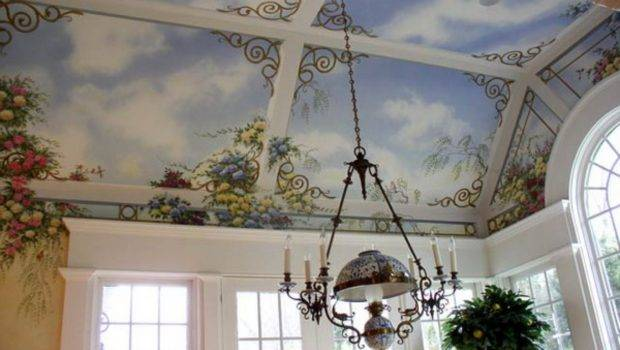Art Murals Ceiling Decoration Ideas