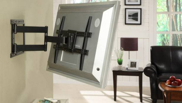Articulating Mount Inch Flat Screen Black