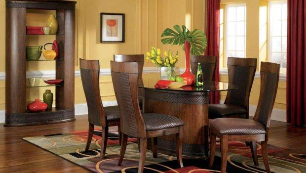 Asain Inspired Stylish Contemporary Dining Room Furniture