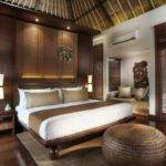 Asian Bedroom Bali Style Bed Design Exotic