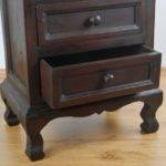 Asian Bedside Table Chest Drawers Handmade Thailand Solid Wood