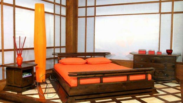 Asian Inspired Bedroom Decorating Ideas