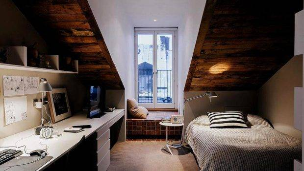 Attic Bedroom Office Small Spaces Pinterest