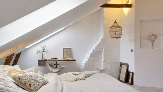 Attic Bedroom Within Small Home Remodel Ideas