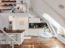 Attic House Interior Design