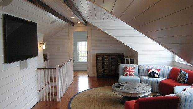 Attic Spaces Offer Additional Living Room