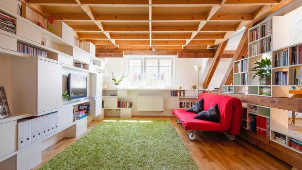 Atypical Furniture Loft Apartment Eclectic
