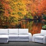 Autumn Decorate Walls Rooms Mural